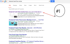 how to rank in google with video